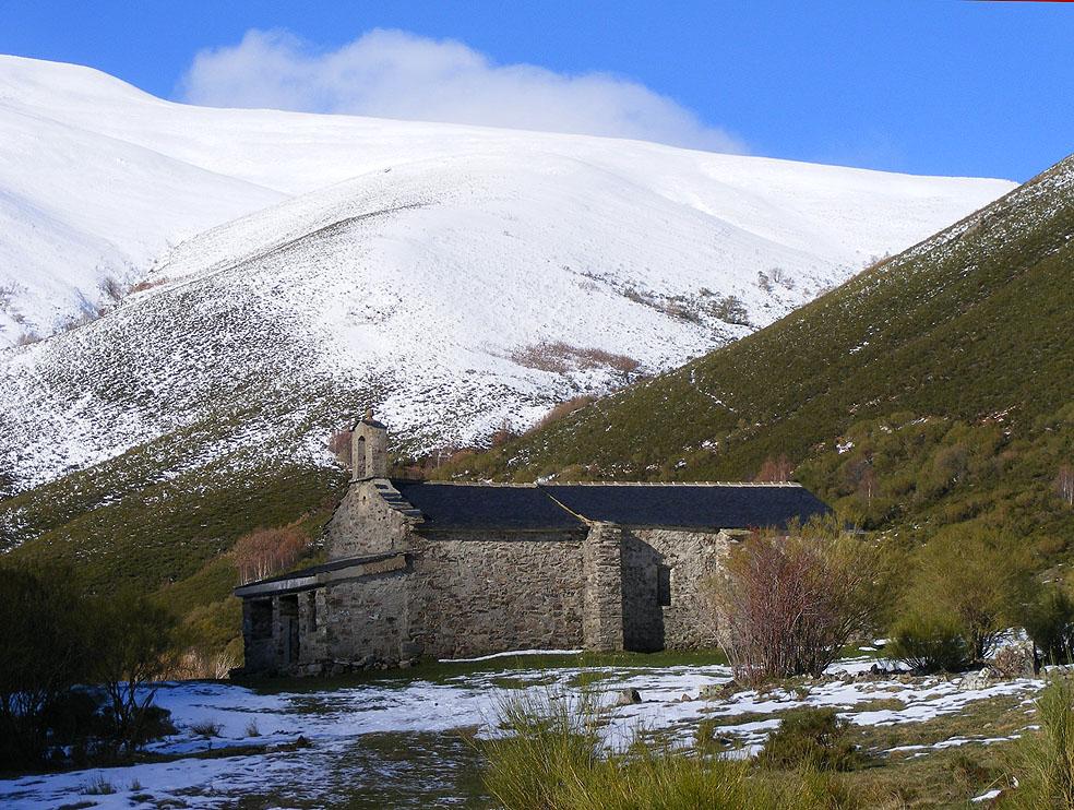 Ermita de Santiago en la Campa de Santiago